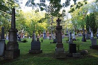 garden cemetery in Quebec City