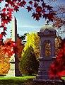 "Cincinnati - Spring Grove Cemetery & Arboretum ""Obelisk in Autumn"""" (6337588166).jpg"