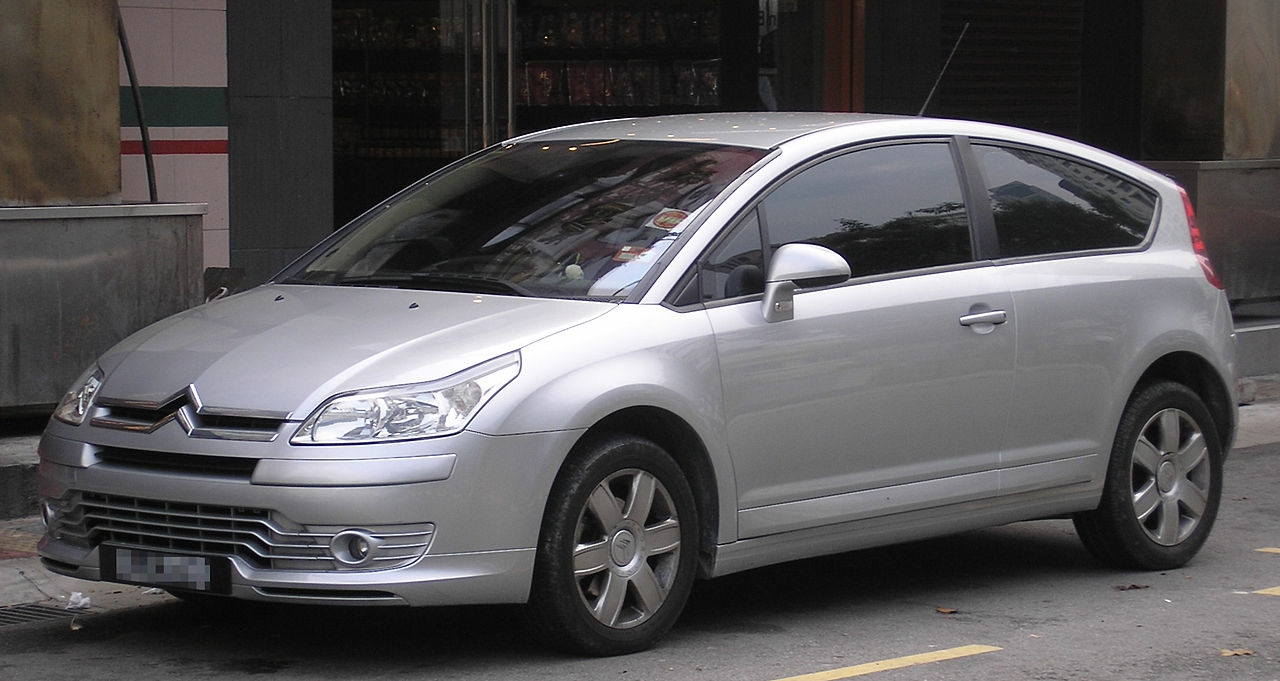 file citroen c4 coupe first generation front kuala wikimedia commons. Black Bedroom Furniture Sets. Home Design Ideas