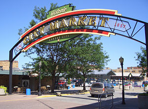 River Market, Kansas City - Image: City Market Kansas City MO
