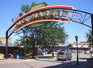 River Market, Kansas City Neighborhood in Missouri, United States