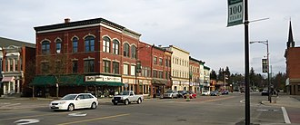 Norwich, New York - Stores near the center of town