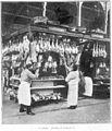 Clément Maurice Paris en plein air, BUC, 1897,187 Les Halles, Pavillon de la boucherie.jpg