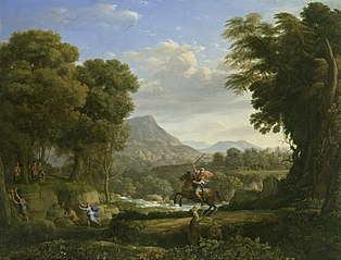 Landscape with Saint George and the Dragon