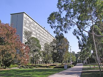 Monash University, Clayton campus - Robert Menzies Building at the Clayton Campus