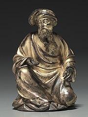 Kneeling Prophet from the Reliquary Chasse of Saint-Germain-des-Prés