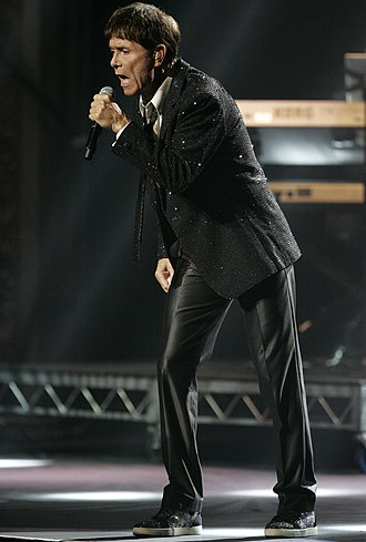 Cheshunt - Cliff Richard performing in Sydney, Australia.