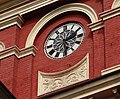 Clock on the clock tower of the Maghen David Synagogue at Synagogue Street,Kolkata.jpg
