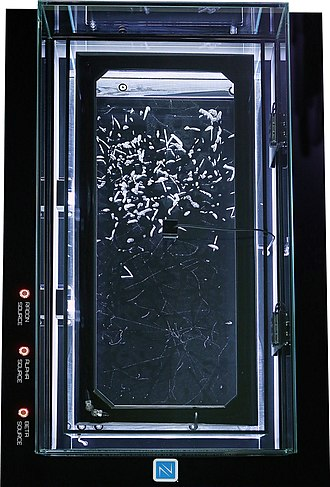 Ionizing radiation - Cloud chambers are one of few ways of visualizing ionizing radiation. They were employed mainly in research in the early days of particle physics, but remain an important education tool today.