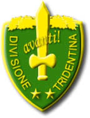 "Royal Italian Army during World War II - Coat of Arms of the ""Tridentina"" Alpini Division"