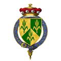 Coat of Arms of Thomas Bingham, Baron Bingham of Cornhill, KG, PC, QC, FBA.png