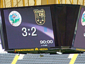 1. FFC Frankfurt - The final score in the 2008 UEFA Women's Cup Final