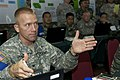 Col. Carden gives feedback during Command Post Exercise (8027759161).jpg