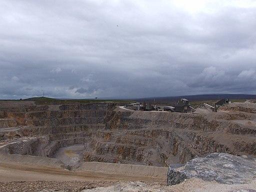 Coldstones Quarry - geograph.org.uk - 2230985
