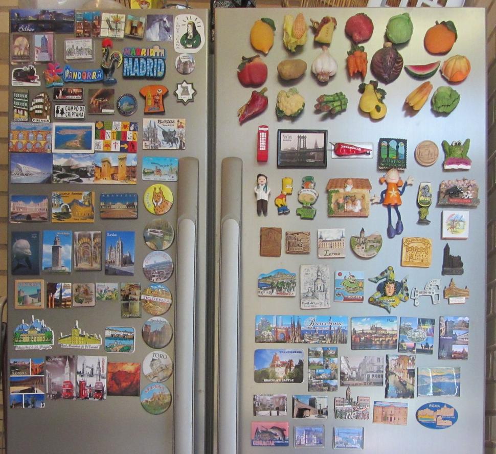 Colección de imanes de frigorífico (RPS 28-06-2015)