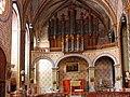 Collégiale St. Vincent à Montréal (Aude)-L'orgue.jpg