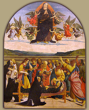 Assumption of the Virgin Mary in art - Image: Colla del Amatrice morte&as