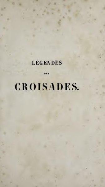 File:Collin de Plancy - Legendes des croisades.djvu