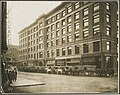 Colman Building, with Lough, Augustine & Co's grocery wagons, Seattle, circa 1900 (MOHAI 9635).jpg