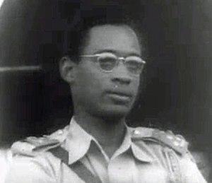 Mobutu Sese Seko - Colonel Mobutu in 1960