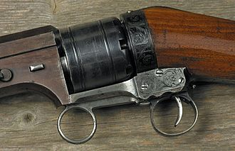 Colt Paterson - Colt Paterson 1838 Ring Lever rifle, receiver