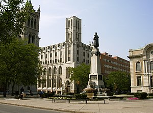 Montgomery Street–Columbus Circle Historic District - Image: Columbus Circle Syracuse