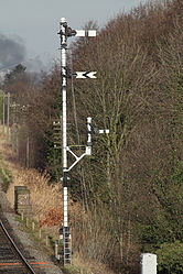 Combined Home and Distant Signal & Shunting Signal (6779158923).jpg