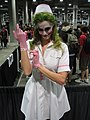 Comikaze Expo 2011 - the Joker as a nurse (6324613531).jpg