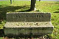 Commemorative stone seat, Old Milverton - geograph.org.uk - 1538696.jpg