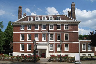 Royal Navy Dockyard - Commissioner's House, Chatham (1703: the oldest intact building in any Royal Dockyard).