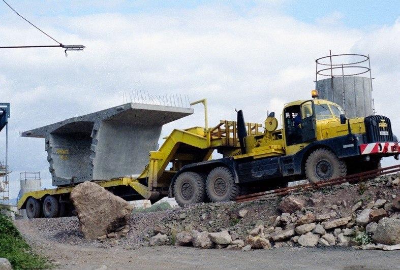 Concrete section (Grangetown Link Road)