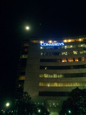 Convergys - One of the Convergys offices in Gurgaon, India