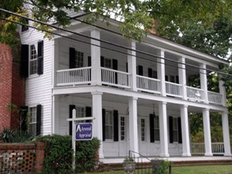 "Fayetteville, North Carolina - The Cool Spring Tavern, built in 1788, is the oldest structure in Fayetteville. Most earlier structures were destroyed by the ""great fire"" of 1831."