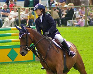Monmouthshire Show - Cornering at Monmouth Show