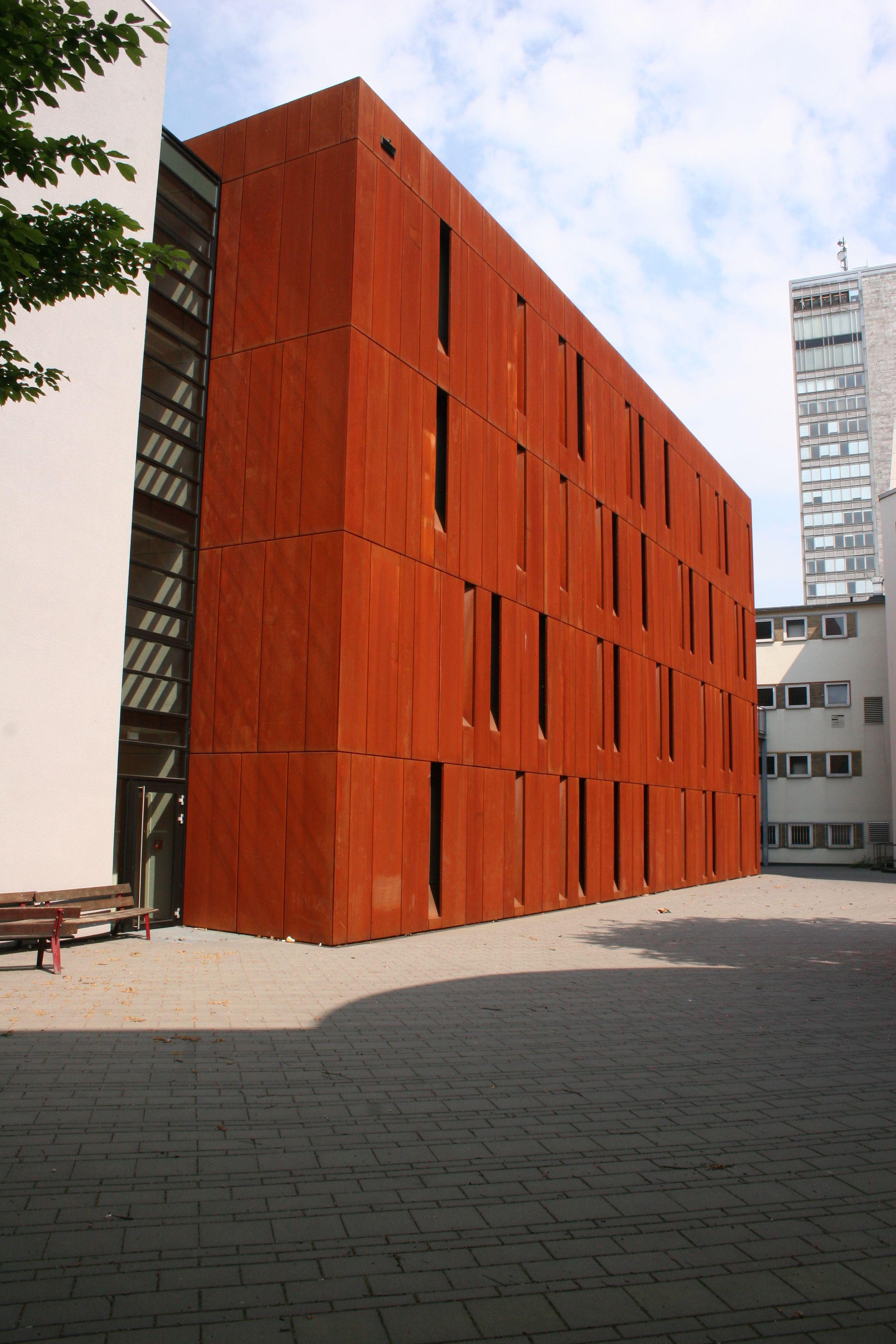 Datei corten stahl cor ten steel museum history town essen germany jpg wikipedia - Architectuur staal corten ...