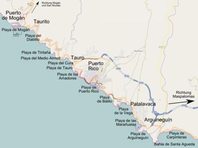 Gran Canaria Karte Flughafen.Arguineguín Reiseführer Auf Wikivoyage