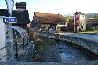 Courchapoix - Scheulte river in Courchapoix village