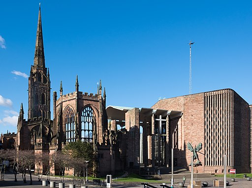 Coventry Cathedral 2018
