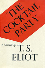 Cover of The Cocktail Party by T S Eliot