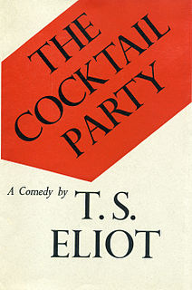 <i>The Cocktail Party</i> play by T. S. Eliot