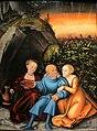 Cranach il vecchio, lot e le figlie, 1533, 01.JPG