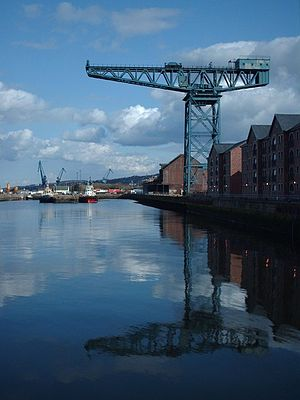 James Watt Dock Crane - The James Watt Dock Crane