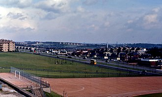 Cranhill - Edinburgh Road, Cranhill in 1966