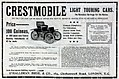 Crestmobile light touring cars British advertisement (1903).jpg
