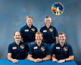 Gardner, Shepard, Gibson, Mullane e Ross