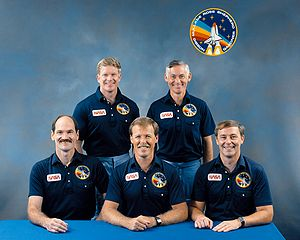 STS-27 - Image: Crew STS 27