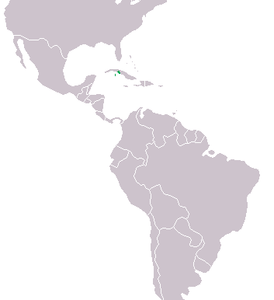 Crocodylus rhombifer Distribution.png