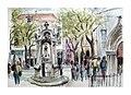 Croquis aquarellé- Lisbonne - Portugal (8644297997).jpg