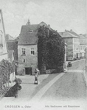 Krosno Odrzańskie - Crossen a. d. Oder in 1900