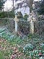 Crosses, St John the Baptist Church, Woodsford - geograph.org.uk - 1180756.jpg